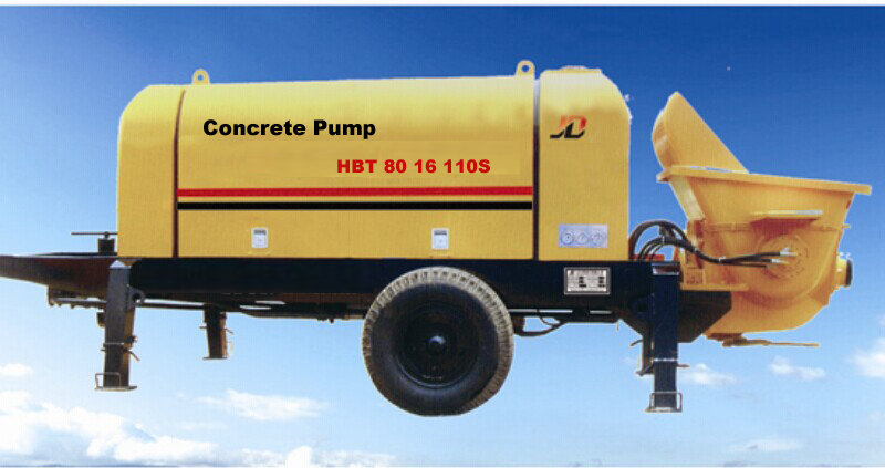 Concrete Stationary Pump Model HBT80-16-110S