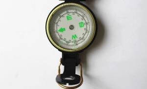 Army or military compass