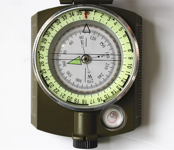 Portable Army or military compass in aluminium material