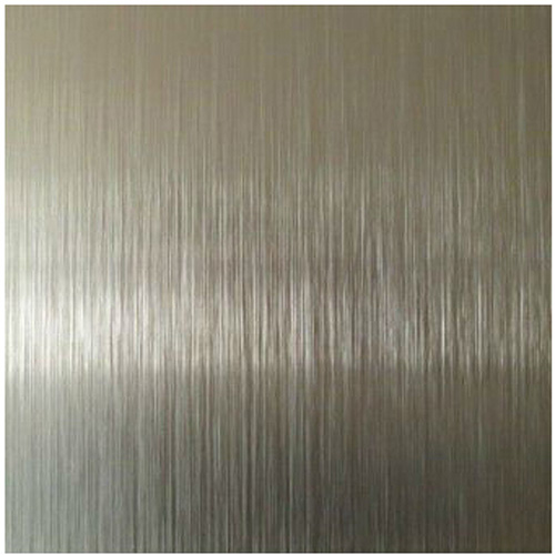 Aluminum Coil Sheet Goleden Brush For Decoration Plate