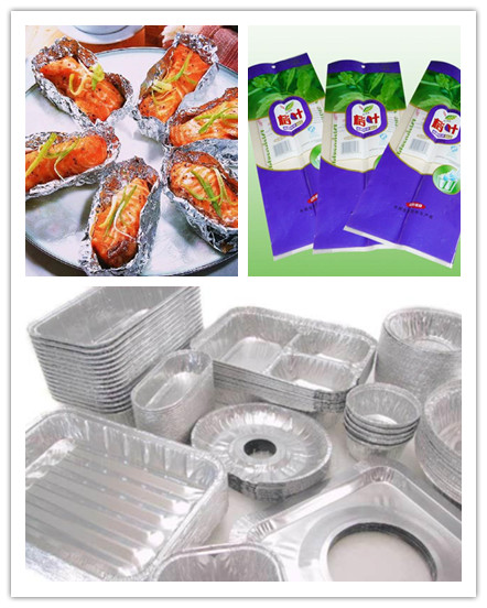 Aluminum Foil for Package Dairy Package from China