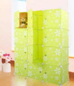 New Printing Flower Design Cabinet