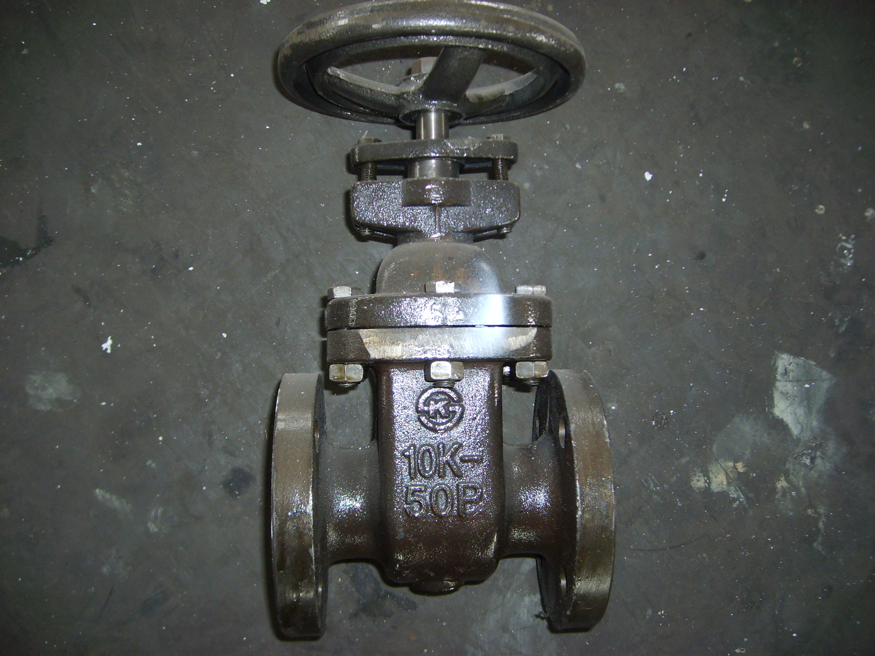 Gate Valve JIS 10k Standar Double Flanged