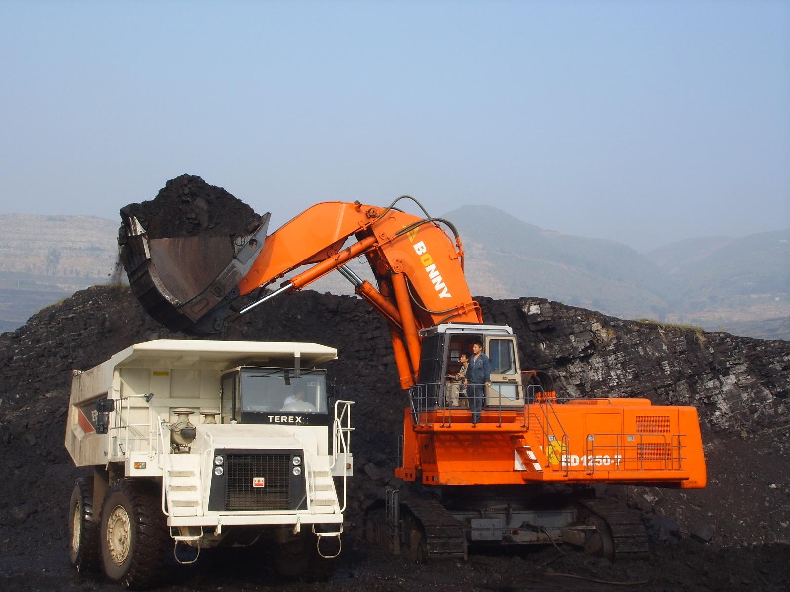 Electro-hydraulic excavatorCED1250-7