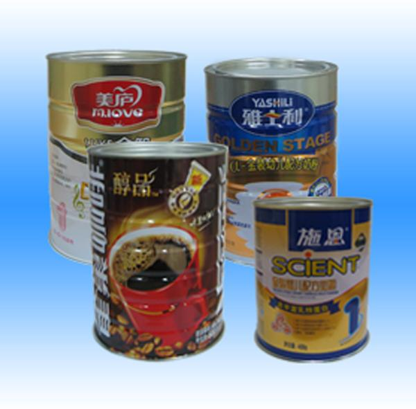 Prtinted Tinplate For Milk Powder, EN 10202