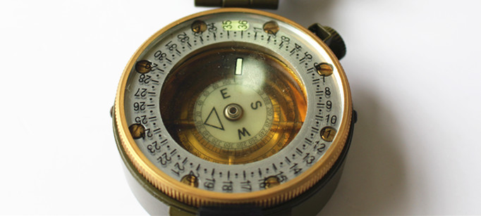 Army or military compass for outdoor users