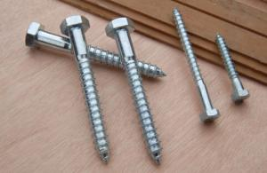 DIN571  Hexagon Head Wood Screws