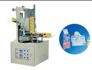 automatic facial tissue cardboard box sealing machine