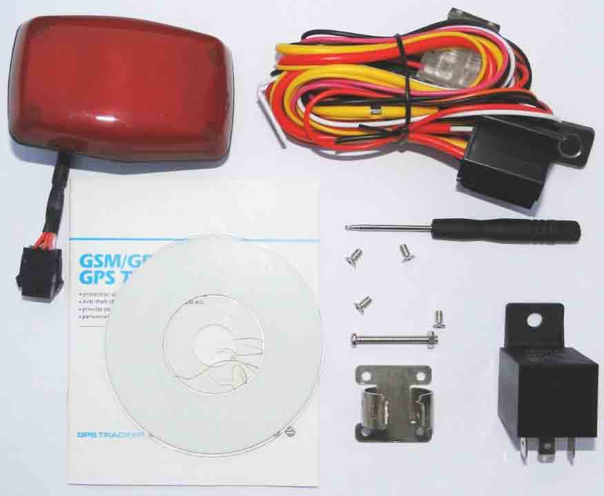 GPS Motocycle Tracker 304-A