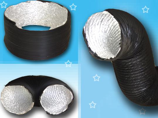 PVC Aluminum Flexible Duct For HVAC