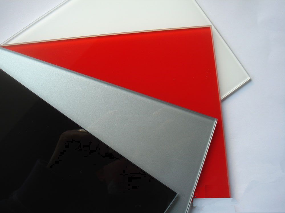 Colorful Durable Painted Glass Back Coated Glass Double Painted Glass with 4-12mm