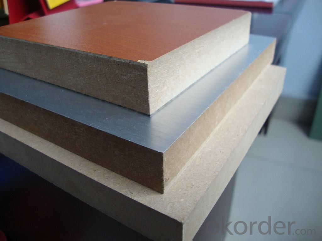 Solid Colors Melamine MDF Melamine Faced MDF Boards