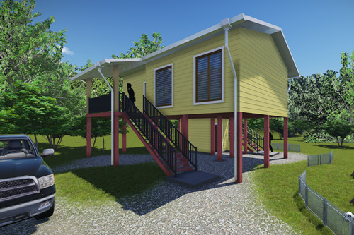 Light Steel Structure House for Papua New Guinea