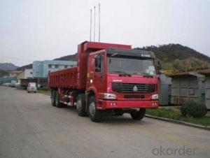 HOWO DUMP TRUCK 371 HP, 8X4