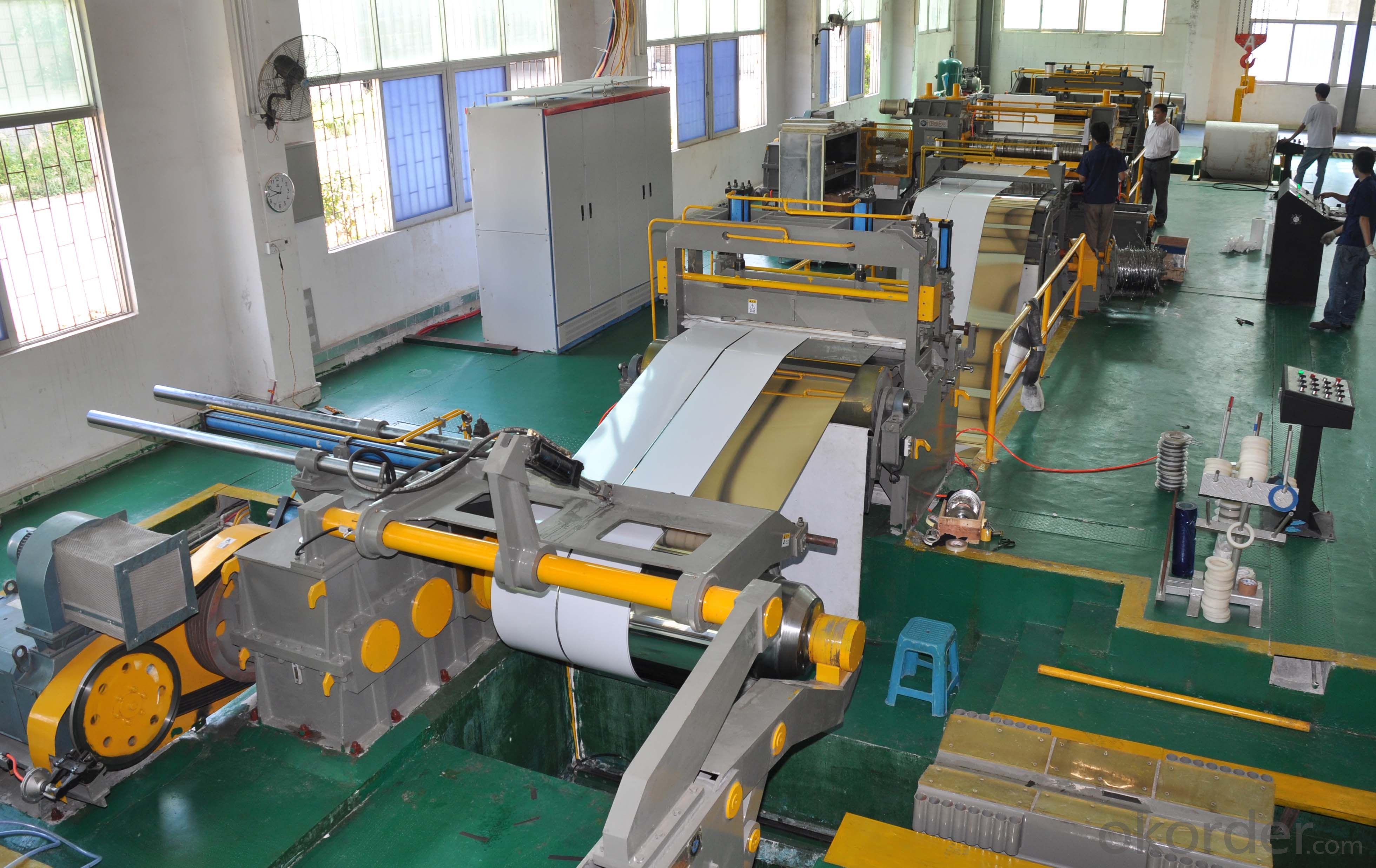 Slitting and Cut to Length Machine Line No.4