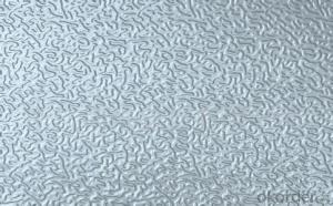Embossed Aluminum Sheets Used for Construction