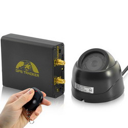 Real-Time Car GPS Tracker and Car Alarm System L004B
