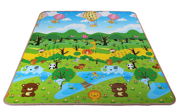 EPE,XPE 200x180x0.5cm single-sided kids playing rug