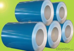 Color Coated Galvanized/Aluzinc Steel Coil in  High Quality