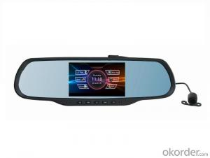 Car Rearview Mirror GPS With G-Sensor,Motion Detection and WIFI functions
