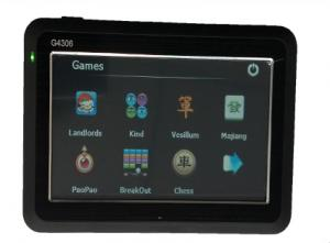 Car 4.3 Inch GPS Navigation,FM Transmitter, Built-in 4G memory
