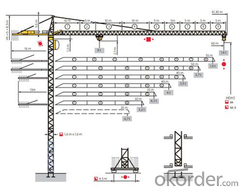 Potain Tower Crane--MC170A