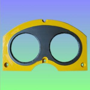 High Quality Tungsten Carbide Cifa Spectacle Wear Plate