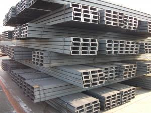 Standard Size Steel Channel Bar, Metal Channel Bar