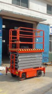 Sixteen  meters  mobile lift table