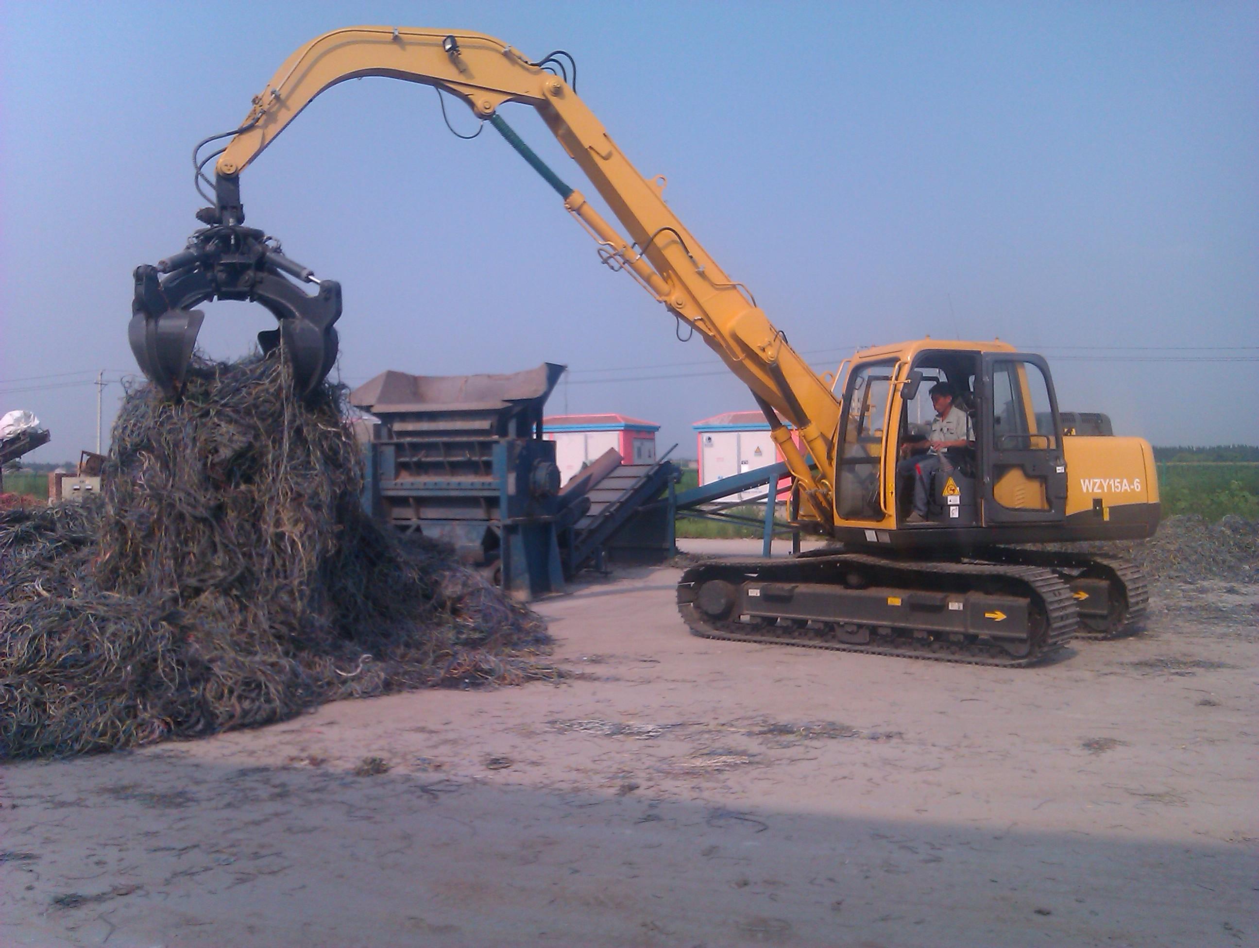 Hydraulic Material handler WZY15A-6