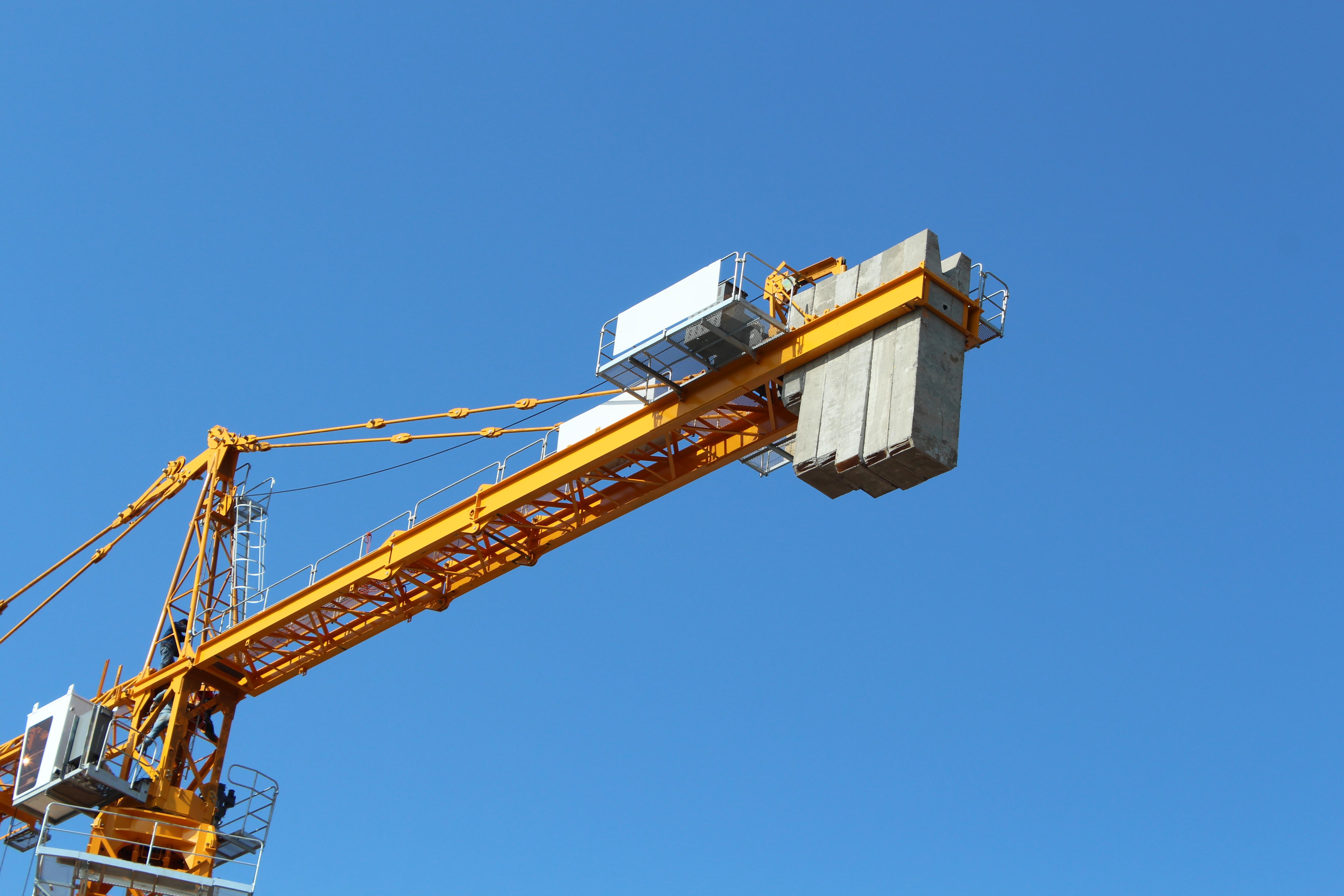 ZHONGLIAN BRAND TOWER CRANE SL7050