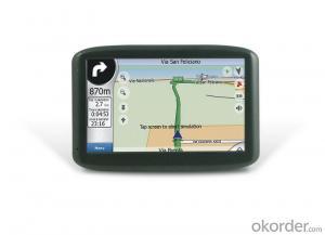 Window CE 5 inch Car Navigation GPS System
