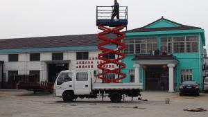 Car-carrying hydraulic lifting table