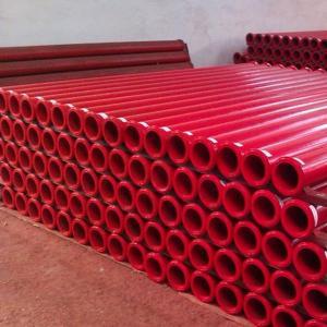 PM concrete pumping pipe DN125*4.25mm*3m