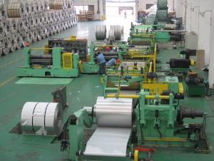 Slitting and Cut to Length Machine Line No.8
