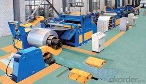Slitting and Cut to Length Machine Line No.3