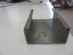 galvanized Z steel profiles or cold rolled steel profile