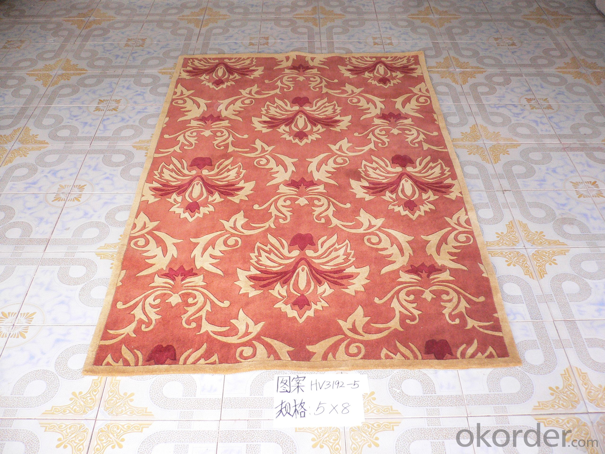 High Quality Handmade Acrylic Carpet