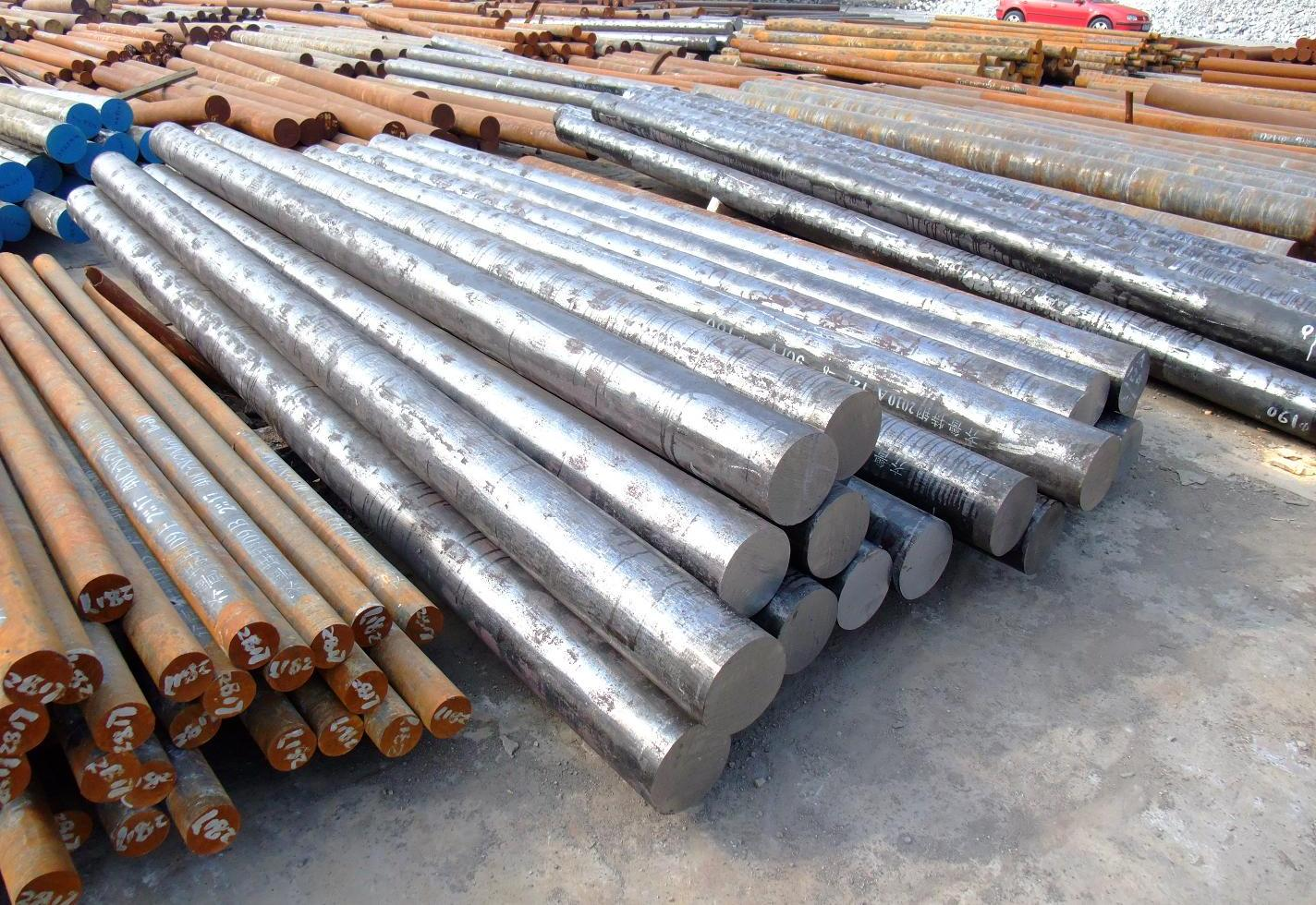 Hot Rolled Bearing Steel Bar with High Quality for Construction