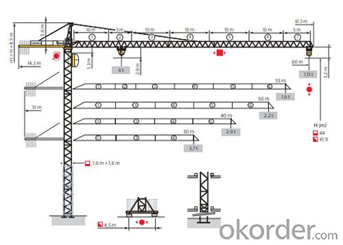 Potain Tower Crane--MC120B