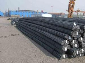 Deformed Steel Bar ASTM A615 GR40 GR60 with High Quality