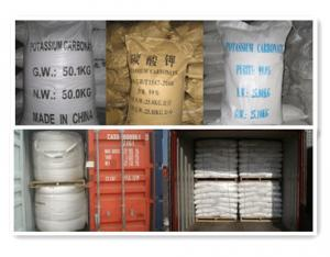 Potassium Carbonate Chemical Powder for Construction