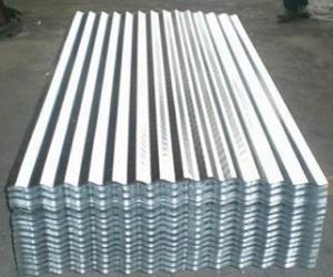 Aluzinc Curragated Steel Sheet or Coil in High Quality