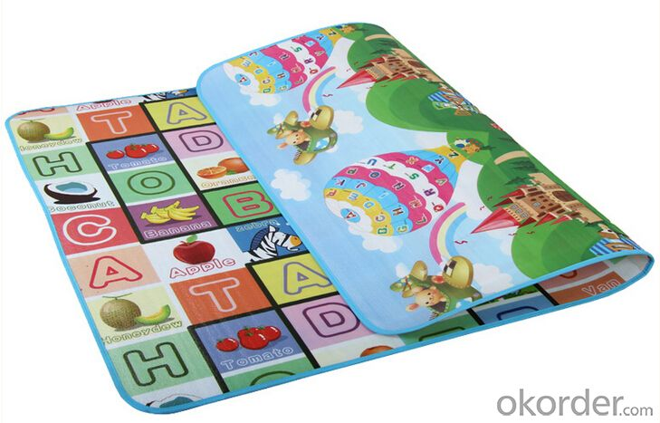 EPE colorful high quality folding crawl mat