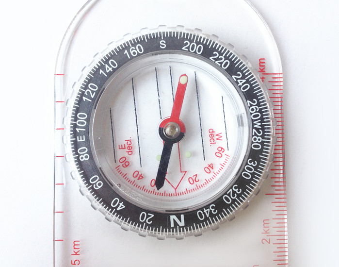 Acrylic Map compass DC47-2