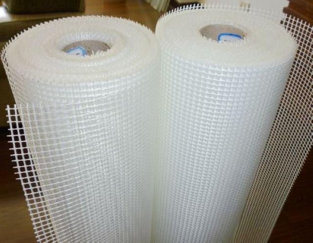 Self-adhesive fiberglass mesh cloth 125g