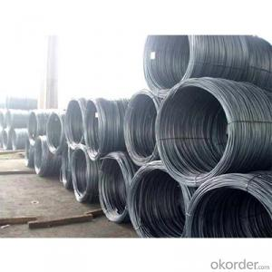 Hot Rolled Carbon Steel Wire Rod 8mm with High Quality