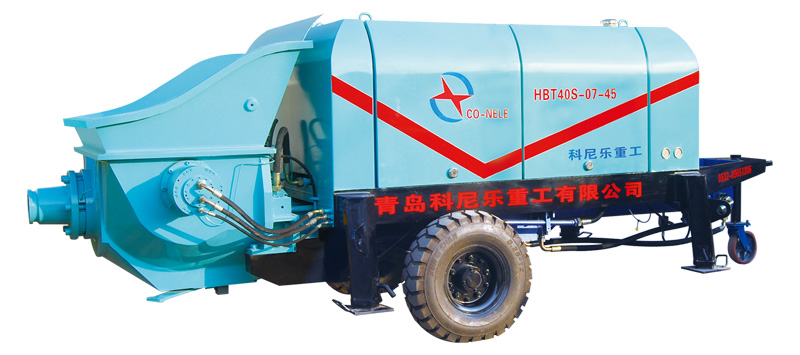 Electric  concrete pump high quality