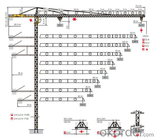 Potain Tower Crane--MC320K12