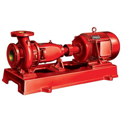 Horizontal Single Stage Fire Pump